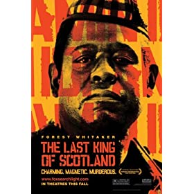 The Last King of Scotland DVD