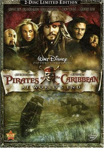 Pirates of the Caribbean - At World's End  DVD