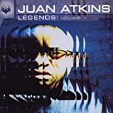 Skivomslag för Juan Atkins: Legends, Volume 1