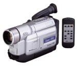 JVC GR-SXM730U Super VHS Palm Sized Camcorder with LCD Monitor