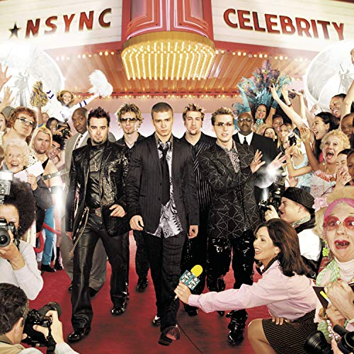 Original album cover of Celebrity by *NSYNC
