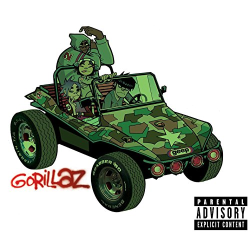 Gorillaz by Gorillaz album cover