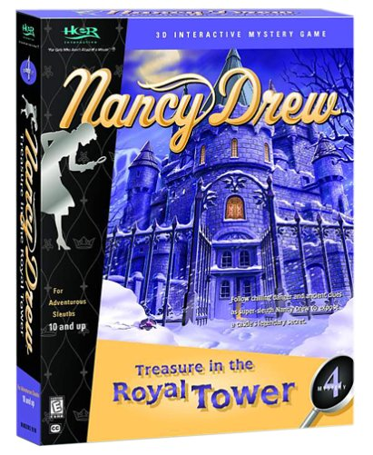 Nancy Drew   Treasure In The Royal Tower by Her Interactive (CD-ROM)
