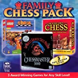 Family Chess Pack Gold Collection (Jewel Case) (6-Pack)