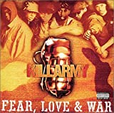 Copertina di album per Fear, Love and War