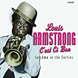 Skivomslag för C'est Ci Bon: Satchmo in the Forties