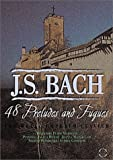Bach - The Well Tempered Clavier 48 Preludes and Fugues / Hewitt, MacGregor, Demidenko, Gavrilow - movie DVD cover picture