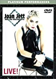 Joan Jett and the Blackhearts - Live! - movie DVD cover picture