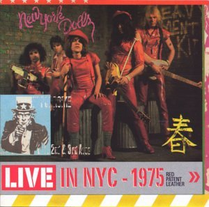 Live in NYC - 1975: Red Patent Leather