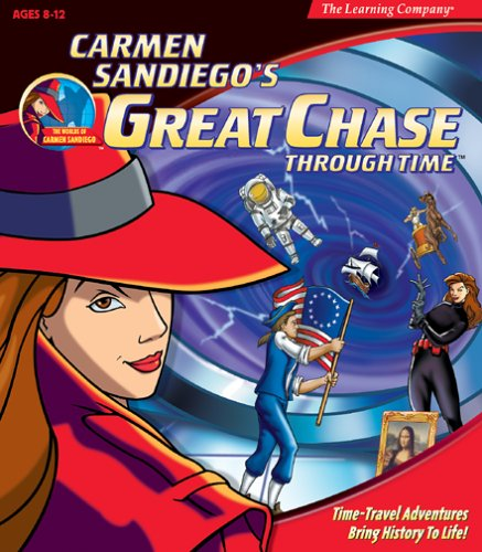 Carmen Sandiego by The Learning Company