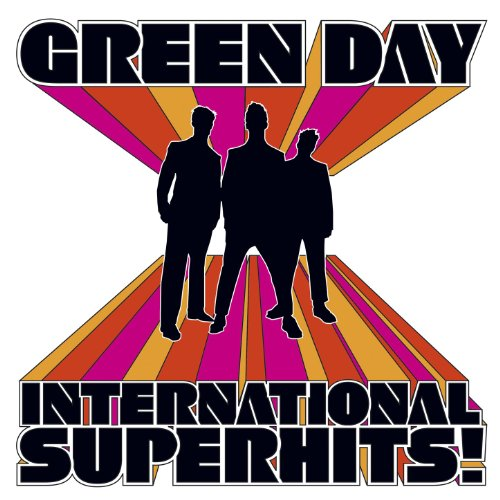 Original album cover of International Superhits! by Green Day