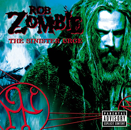 Original album cover of The Sinister Urge by Rob Zombie