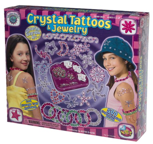 Crystal Tattoos and Jewelry
