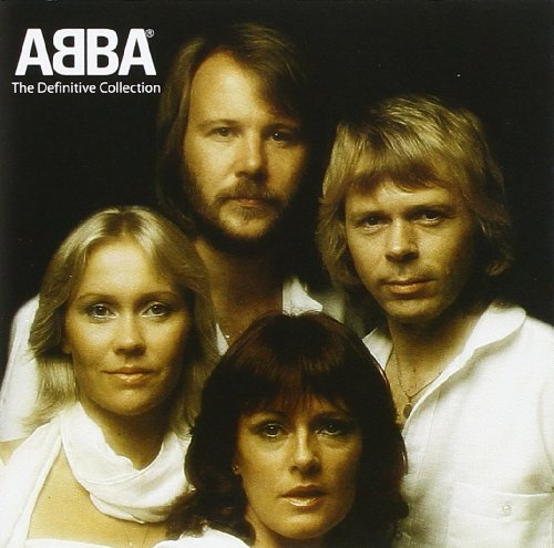 Original album cover of The Definitive Collection by ABBA