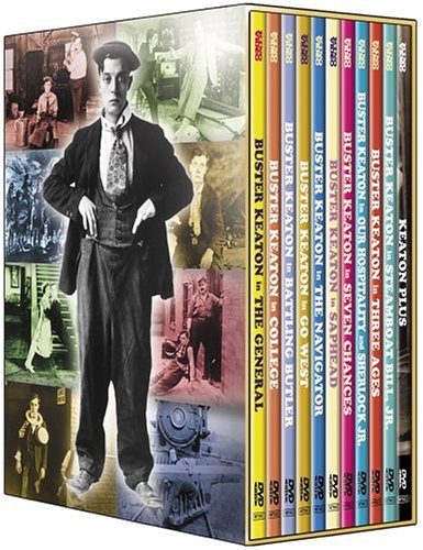 The Art of Buster Keaton cover