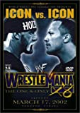 WWE WrestleMania X8 - movie DVD cover picture