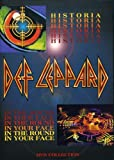 Def Leppard - Historia / In the Round, In Your Face - movie DVD cover picture