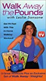 Video : Leslie Sansone - Walk Away the Pounds 3 Pack (includes weight set)
