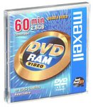 MAXELL 567612 Recordable ReWriteable DVD-RAM for Camcorder