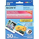 Sony SVM30SS Cartridge and Paper for Video Printer