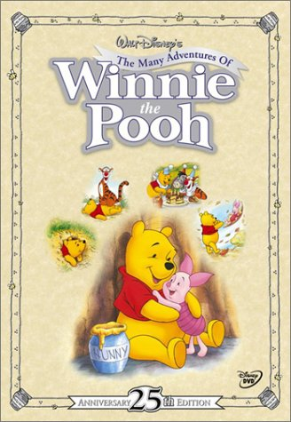 The Many Adventures of Winnie the Pooh (25th Anniversary Edition) (1977)  DVD