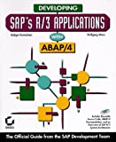 Developing Sap's R/3 Applications With Abap/4