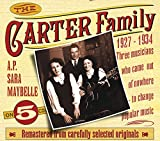 Cubierta del álbum de The Carter Family: 1927-1934