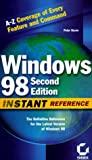Windows 98 : Instant Reference (Sybex Instant Reference)