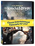 J.R.R. Tolkien Animated Films Set (The Hobbit/The Lord of the Rings/The Return of the King) - movie DVD cover picture