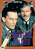 The Adventures of Sherlock Holmes,  Vol. 4 (The Greek Interpreter / The Norwood Builder) - movie DVD cover picture