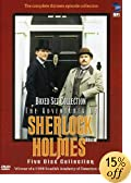 The Adventures of Sherlock Holmes (Boxed Set Collection) by Jeremy Brett