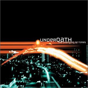 The Changing of Times by Underoath album cover