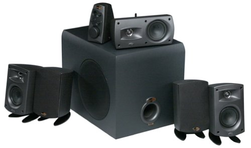 klipsch promedia 5 1 thx speakers reviews computer. Black Bedroom Furniture Sets. Home Design Ideas