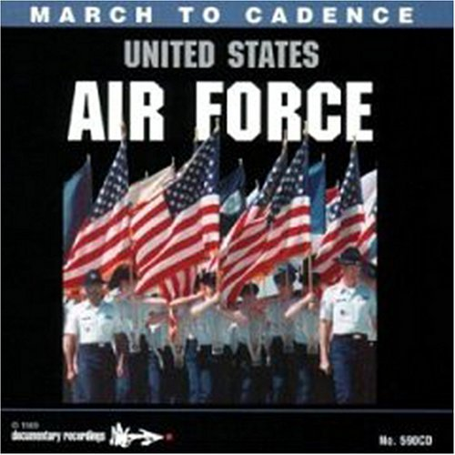 Original album cover of March to Cadence with United States Air Force by Various Artists