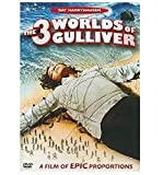 The 3 Worlds of Gulliver - movie DVD cover picture