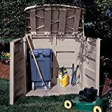Suncast GS3000 45 Cubic Foot Horizontal Storage Shed