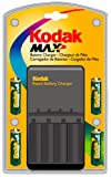 Kodak Max K2000 Battery Charger with 4 NiMH AA Batteries