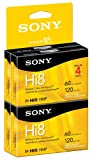 Sony Hi8 Camcorder Cassettes 120 Minute(4-Pack)