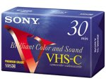 Sony VHS-C Camcorder Cassettes 30 Minute (5-Pack)