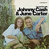 Copertina di album per Carryin' On With Johnny Cash & June Carter