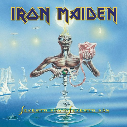 Original album cover of Seventh Son of a Seventh Son by Iron Maiden