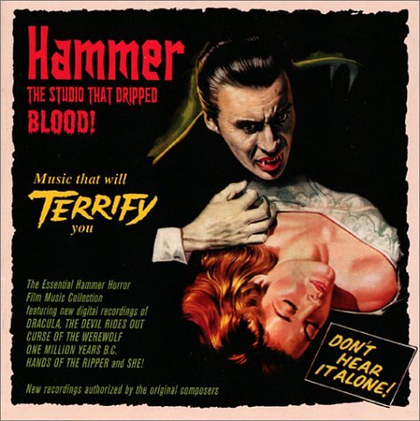 Original album cover of Hammer the Studio That Dripped Blood by Hammer
