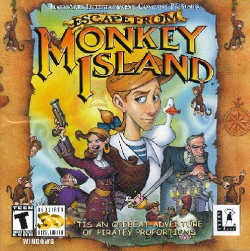 Escape Monkey Island Monkey