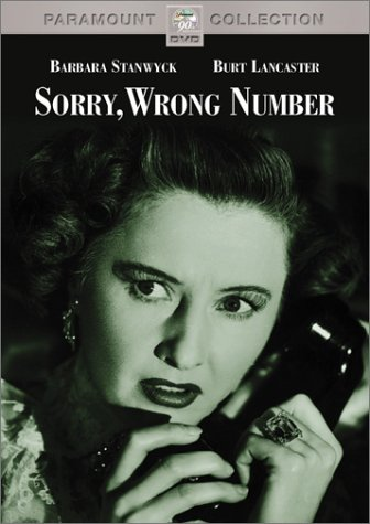 sorry wrong number DVD - Buy it!
