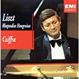 Cubierta del álbum de Liszt: Hungarian Rhapsodies Nos. 1 - 15, Spanish Rhapsodies, etc.