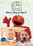 Elmo's World - Babies, Dogs & More - movie DVD cover picture