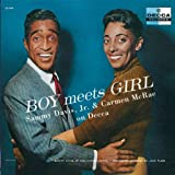 Album cover for Boy Meets Girl: Sammy Davis, Jr. and Carmen McRae on Decca