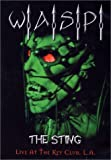 W.A.S.P. - The Sting (Live at the Key Club, L.A.) - movie DVD cover picture