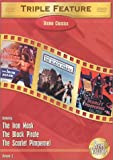 Drama Classics Triple Feature, Vol. 2 (The Black Pirate / The Scarlet Pimpernel (1934) / The Iron Mask) - movie DVD cover picture