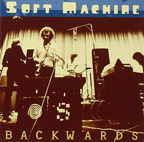 Original album cover of Backwards by Soft Machine